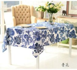 Hot-selling-Linen-cotton-Chinese-art-blue-and-White-printing-tablecloth-with-decoration-140x180cm-Table-cover
